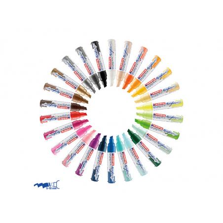 Acheter Edding Acrylic 5000 - Marqueur acrylique à pointe large - jaune soleil - 5,79€ en ligne sur La Petite Epicerie - Loi...