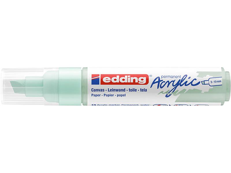 Acheter Edding Acrylic 5000 - Marqueur acrylique à pointe large - menthe douce - 5,79€ en ligne sur La Petite Epicerie - Loi...