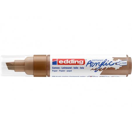 Acheter Edding Acrylic 5000 - Marqueur acrylique à pointe large - noisette - 5,79€ en ligne sur La Petite Epicerie - Loisirs...