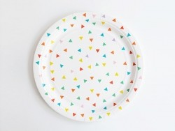 8 assiettes en papier My Little Day - Multicolore My little day - 1