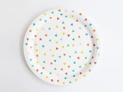 8 assiettes en papier My Little Day - Multicolore