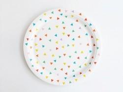 8 assiettes en papier My Little Day - Multicolore