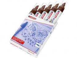 Acheter Edding Acrylic 5000 - Marqueur acrylique à pointe large - marron - 5,79€ en ligne sur La Petite Epicerie - Loisirs c...
