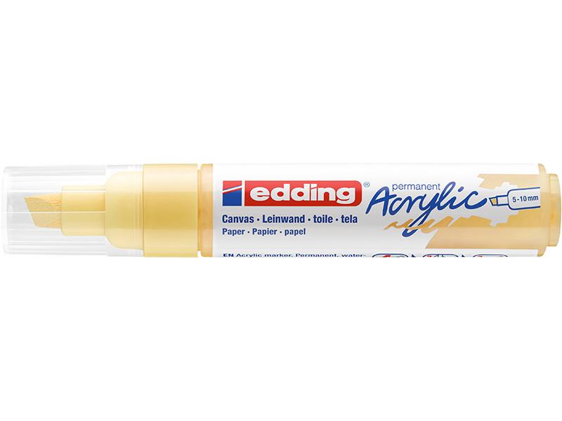 Acheter Edding Acrylique 5000 - Marqueur acrylique à pointe large - jaune pastel - 5,79€ en ligne sur La Petite Epicerie - L...