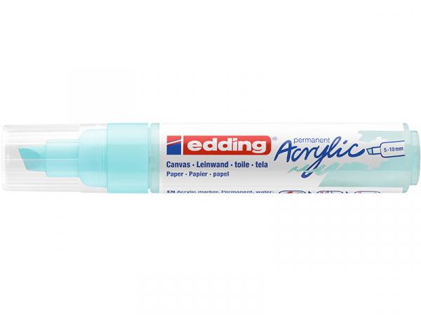 Acheter Edding Acrylic 5000 - Marqueur acrylique à pointe large - bleu pastel - 5,79€ en ligne sur La Petite Epicerie - Lois...