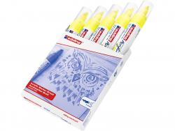 Acheter Edding Acrylic 5000 - Marqueur acrylique à pointe large - jaune fluorescent - 5,79€ en ligne sur La Petite Epicerie ...