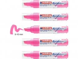 Acheter Edding Acrylic 5000 - Marqueur acrylique à pointe large - rose fluorescent - 5,79€ en ligne sur La Petite Epicerie -...