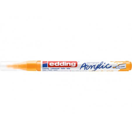Acheter Edding Acrylic 5300 - Marqueur acrylique à pointe fine - jaune soleil - 3,79€ en ligne sur La Petite Epicerie - Lois...