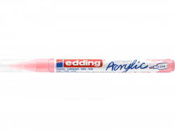Acheter Edding Acrylic 5300 - Marqueur acrylique à pointe fine - mauve chic - 3,79€ en ligne sur La Petite Epicerie - Loisir...