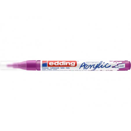 Acheter Edding Acrylic 5300 - Marqueur acrylique à pointe fine - jus de baies - 3,79€ en ligne sur La Petite Epicerie - Lois...