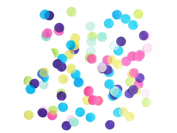 Colourful My Little Day confetti