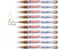 Acheter Edding Acrylic 5300 - Marqueur acrylique à pointe fine - noisette - 3,79€ en ligne sur La Petite Epicerie - Loisirs ...