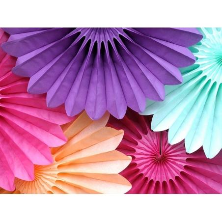 Acheter rosace en papier de soie 25 cm - rose vif fuschia  - 3,20€ en ligne sur La Petite Epicerie - 100% Loisirs créatifs