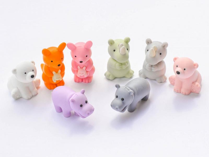 Acheter Gomme animaux sauvages - aléatoire - 1,49€ en ligne sur La Petite Epicerie - Loisirs créatifs