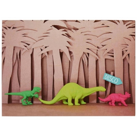 10 invitations My Little Day - dino  - 1