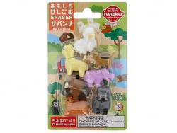 Acheter Lot de 7 gommes - Animaux de la savane - 6,99€ en ligne sur La Petite Epicerie - Loisirs créatifs
