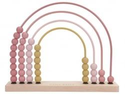 Acheter Arc en ciel boulier - rose - Little Dutch - 15,89€ en ligne sur La Petite Epicerie - Loisirs créatifs