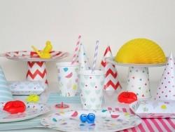 20 serviettes en papier My Little Day - Multicolore