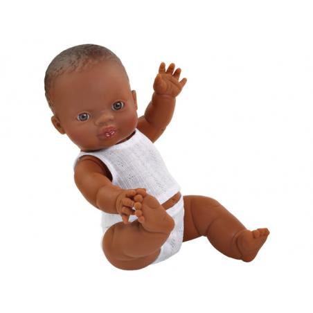 Acheter Poupée pour enfant - Bébé noir - Pyjama blanc - 24,89€ en ligne sur La Petite Epicerie - Loisirs créatifs
