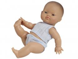 Acheter Poupée pour enfant - Bébé asiatique - Pyjama bleu - 24,89€ en ligne sur La Petite Epicerie - Loisirs créatifs