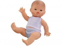 Acheter Poupée pour enfant - Bébé blanc - Pyjama bleu - 24,89€ en ligne sur La Petite Epicerie - Loisirs créatifs