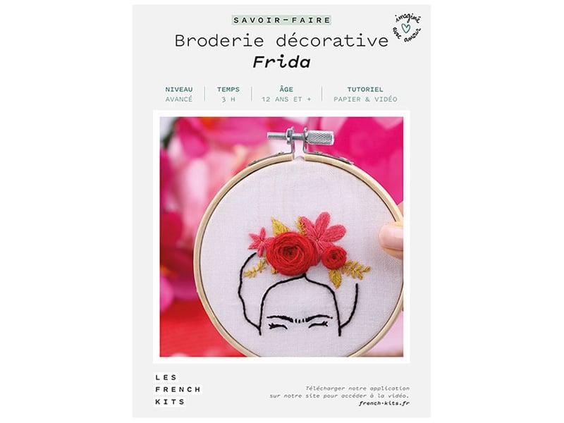 Acheter Kit de broderie décorative - Frida - Les French Kits - 16,99€ en ligne sur La Petite Epicerie - Loisirs créatifs