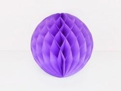 boule alvéolée 15 cm - violette