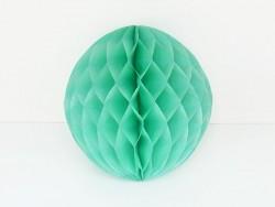 boule alvéolée 15 cm - vert d'eau