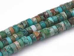 Acheter 20 perles heishi naturelles 4 mm - Jaspe - 1,19€ en ligne sur La Petite Epicerie - Loisirs créatifs