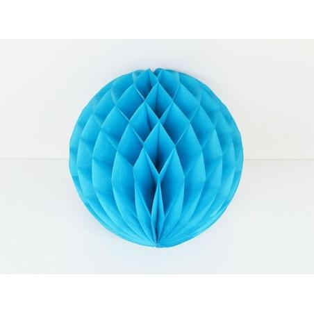 Honeycomb ball (25 cm) - sky blue