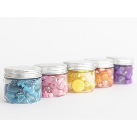 Acheter Pot de perles en plastique - nuances de jaune - 4,49€ en ligne sur La Petite Epicerie - Loisirs créatifs
