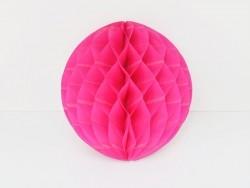 boule alvéolée 25 cm - rose fuschia