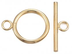 Acheter Fermoirs toogle en acier inoxydable 304 - doré - 16x12 mm - 1,39€ en ligne sur La Petite Epicerie - Loisirs créatifs