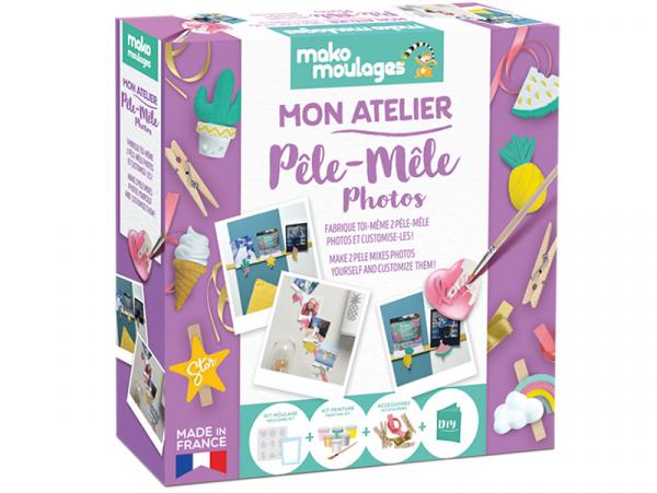 Acheter Mon ateliermako moulages : pêle-mêle photos - 19,99€ en ligne sur La Petite Epicerie - Loisirs créatifs