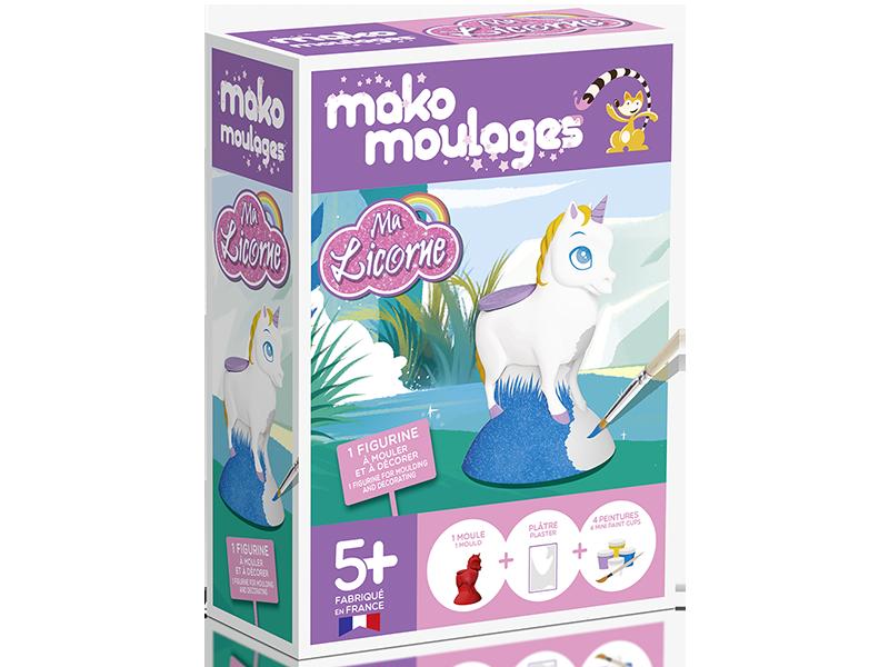 Acheter Mako moulages: Ma licorne - 11,99€ en ligne sur La Petite Epicerie - Loisirs créatifs