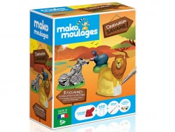 Acheter Mako moulages: Destination savane - 19,99€ en ligne sur La Petite Epicerie - Loisirs créatifs