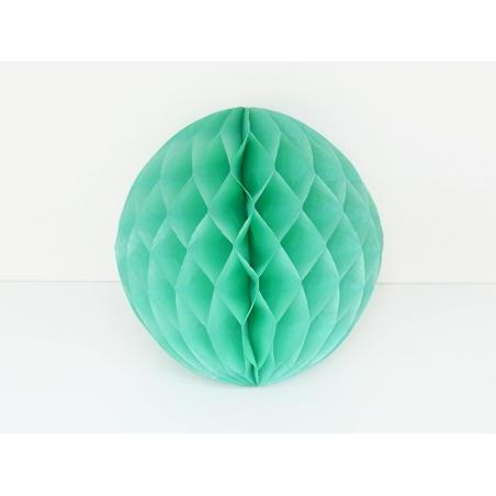 boule alvéolée 25 cm - vert d'eau