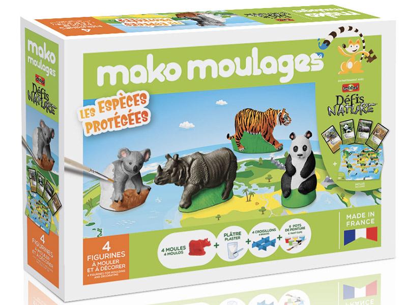Acheter Mako moulages: Espèces protégées - 29,99€ en ligne sur La Petite Epicerie - Loisirs créatifs