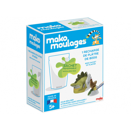 Acheter Recharge plâtre 800g – Mako moulages - 9,99€ en ligne sur La Petite Epicerie - Loisirs créatifs