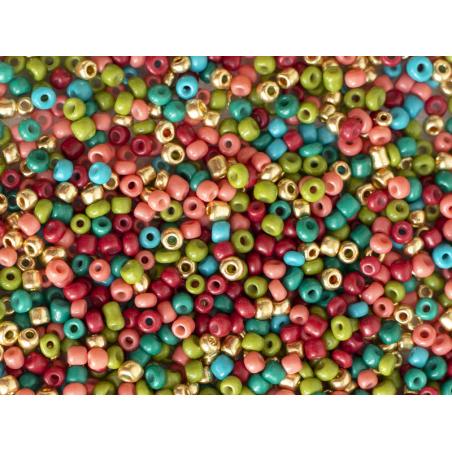 Acheter Pot de 60 grammes de perles de rocailles 3mm - mélange Dakar - 3,99€ en ligne sur La Petite Epicerie - Loisirs créatifs