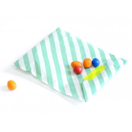 Acheter 25 sacs en papier à rayures - gris - 5,50€ en ligne sur La Petite Epicerie - 100% Loisirs créatifs