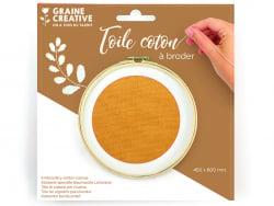 Acheter Toile coton à broder - Camel 45 x 60 cm - 3,69€ en ligne sur La Petite Epicerie - Loisirs créatifs