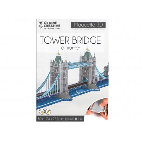Acheter Puzzle maquette - Tower Bridge - 12,99€ en ligne sur La Petite Epicerie - Loisirs créatifs
