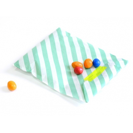 Acheter 25 sacs en papier à rayures - rose vif - 5,50€ en ligne sur La Petite Epicerie - Loisirs créatifs