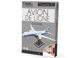 Acheter Puzzle maquette - Avion de ligne - 5,89€ en ligne sur La Petite Epicerie - Loisirs créatifs