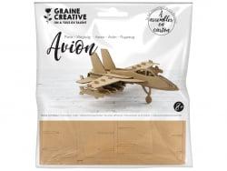 Acheter Maquette carton - Avion 16,5 x 17,5 x 6 cm - 2,89€ en ligne sur La Petite Epicerie - Loisirs créatifs