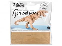Acheter Maquette en carton - Tyranosaure 20 x 7 x 10 cm - 2,29€ en ligne sur La Petite Epicerie - Loisirs créatifs