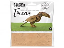 Acheter Maquette en carton - Toucan 20 x 7 x 10 cm - 2,29€ en ligne sur La Petite Epicerie - Loisirs créatifs