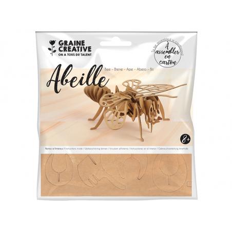 Acheter Maquette en carton - Abeille 23 x 9 x 23 cm - 2,29€ en ligne sur La Petite Epicerie - Loisirs créatifs