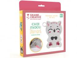 Acheter Kit diamond mosaic - Porte-monnaie chat - 7,69€ en ligne sur La Petite Epicerie - Loisirs créatifs